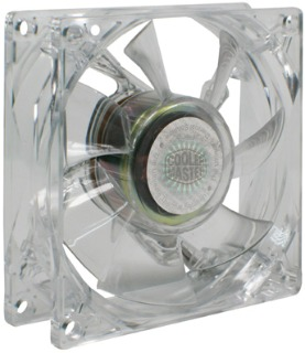 Cooler Master ventilátor BC 12025 Fan (červený), 1200RPM