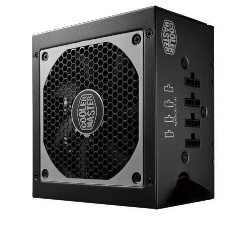 Cooler Master zdroj ATX V650S 650W, modulární, aktivní PFC, 12 cm ventilátor
