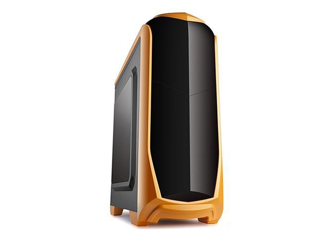 X2 PC case ATX - ISOLATIC - orange