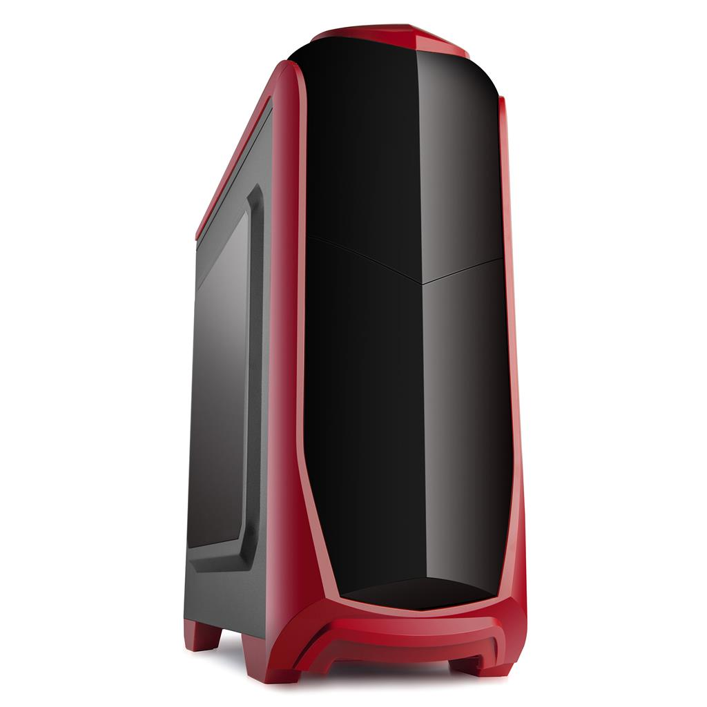 X2 PC case ATX - ISOLATIC - red