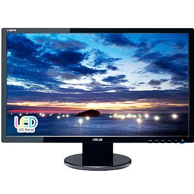 Asus LCD-LED VE247H 23.6'' wide FHD, 2 ms GtG, DC 10 mil:1, DVI, HDMI, repro, č.