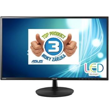 Asus LCD-LED VN247H 23.6'' wide FHD, 1ms GtG, DC 80mil:1, repro, 2xHDMI, č.