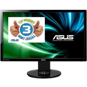 Asus LCD-LED VG248QE 24'' wide FHD 144Hz, 1ms, DC 80mil:1, DVI, HDMI, DP, HAS,č.