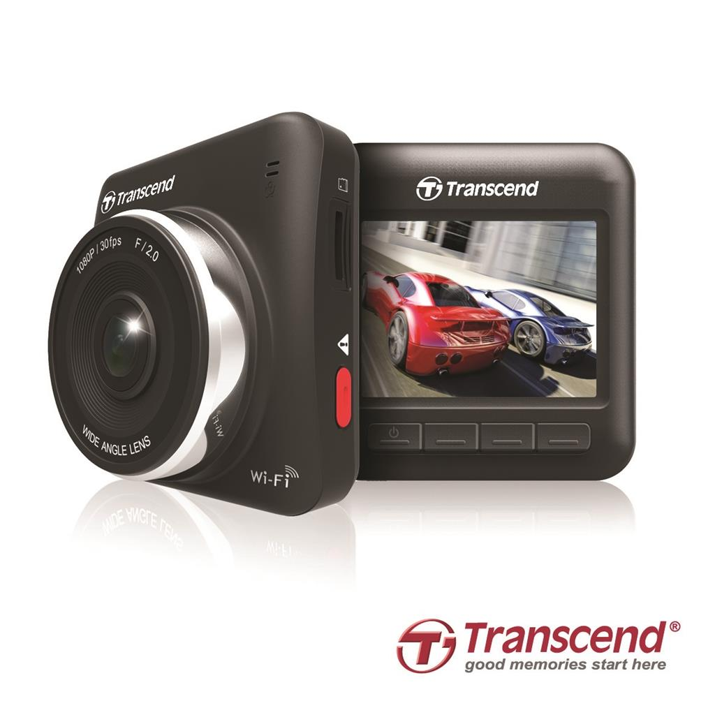 Transcend DrivePro 200 Car video recorder FULL HD 1080p, 2.4'' LCD, micro SDHC