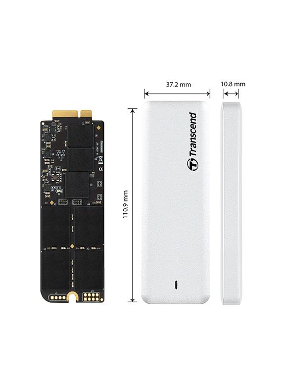 Transcend JetDrive 725 SSD upgrade kit pro Apple 480GB SATA 6Gb/s, USB 3.0