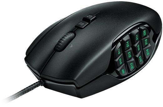 Logitech G600 herní myš MMO ?erná