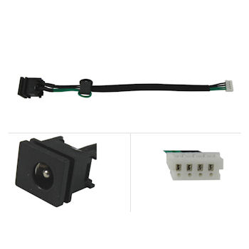 Qoltec DC konektor + kabel pro Toshiba Satellite C650 L505