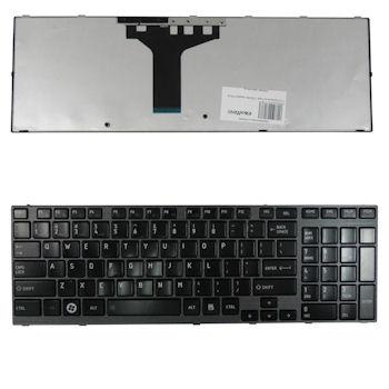 Qoltec Klávesnice pro notebook TOSHIBA Satellite P750 Black