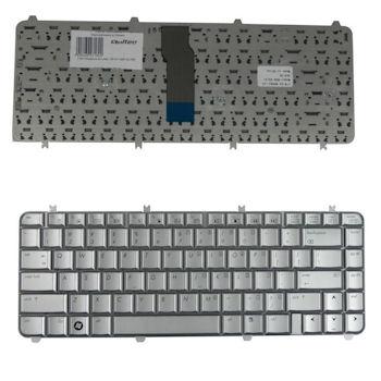 Qoltec Klávesnice pro notebook HP DV5-1000 SILVER