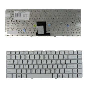 Qoltec Klávesnice pro notebook Sony VPC-EA WHITE