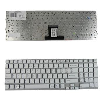 Qoltec Klávesnice pro notebook Sony VPC-EB WHITE