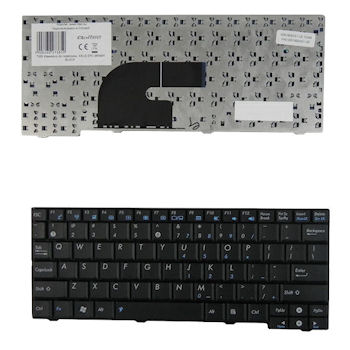 Qoltec Klávesnice pro notebook Asus EPC MK90H BLACK