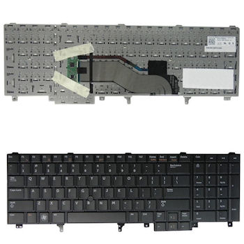 Qoltec Klávesnice pro notebook Dell Latitude E6520 BLACK