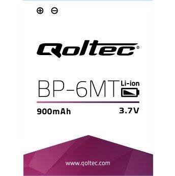 Qoltec Baterie pro Nokia N81 BP-6MT, 900mAh