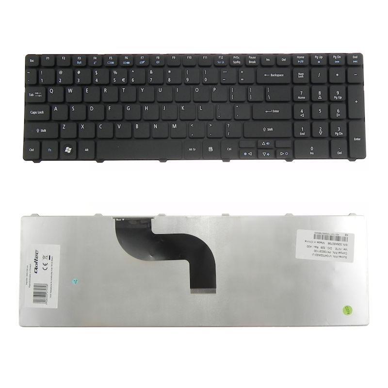 Qoltec Klávesnice pro notebook Acer 5810t Black
