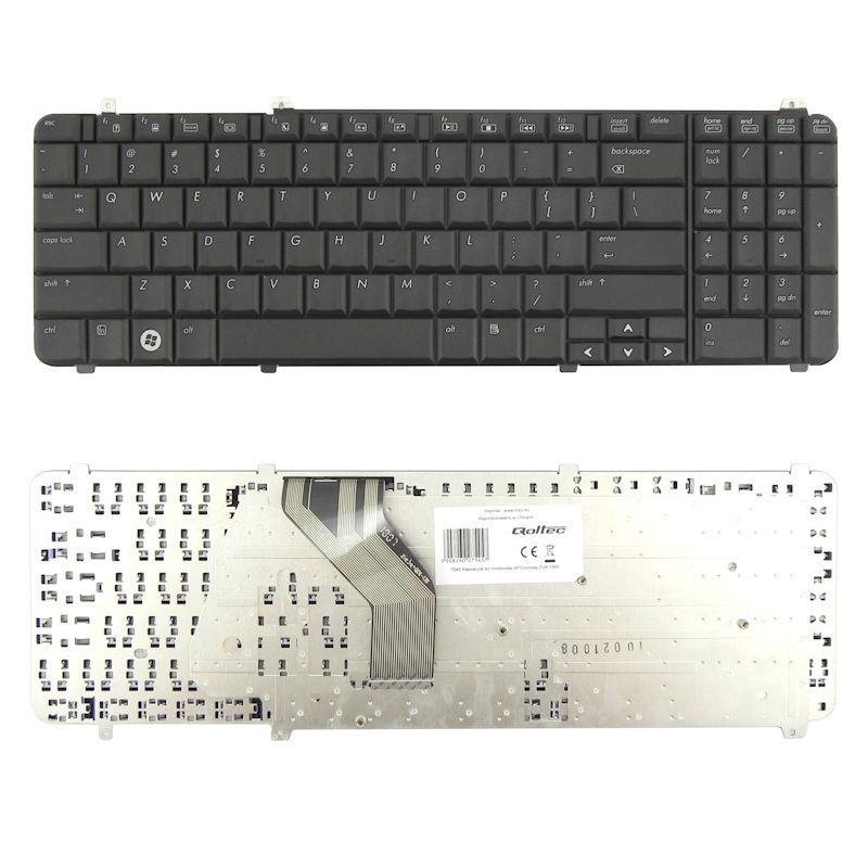 Qoltec Klávesnice pro notebook HP/Compaq DV6-1000