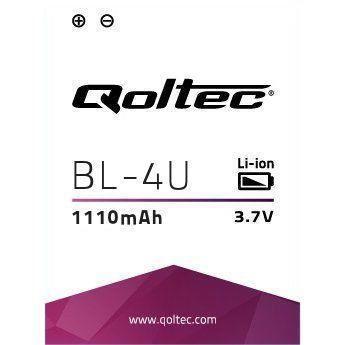 Qoltec Baterie pro Nokia BL-4U 500 E66 8800, 1300mAh