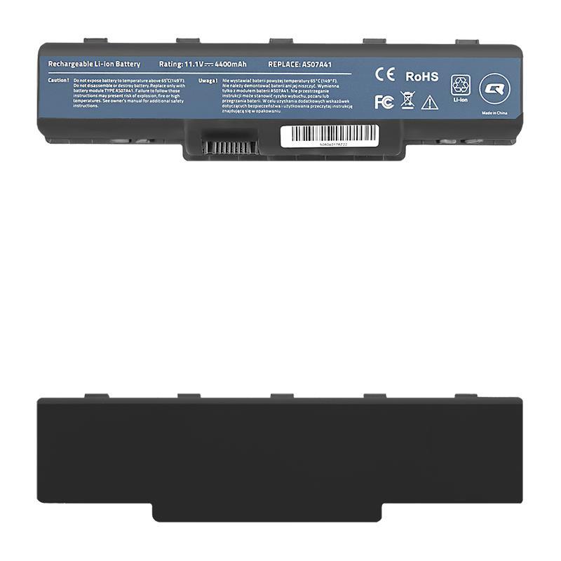 Qoltec Long Life Notebook Battery - Acer Aspire 4710   4400mAh   10.8V