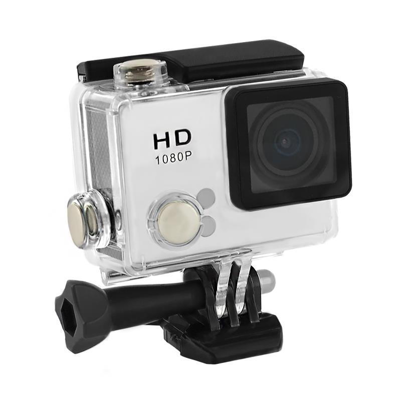 2.0'' Waterproof Sports Camera Full HD QOLTEC for helmet/bike/car