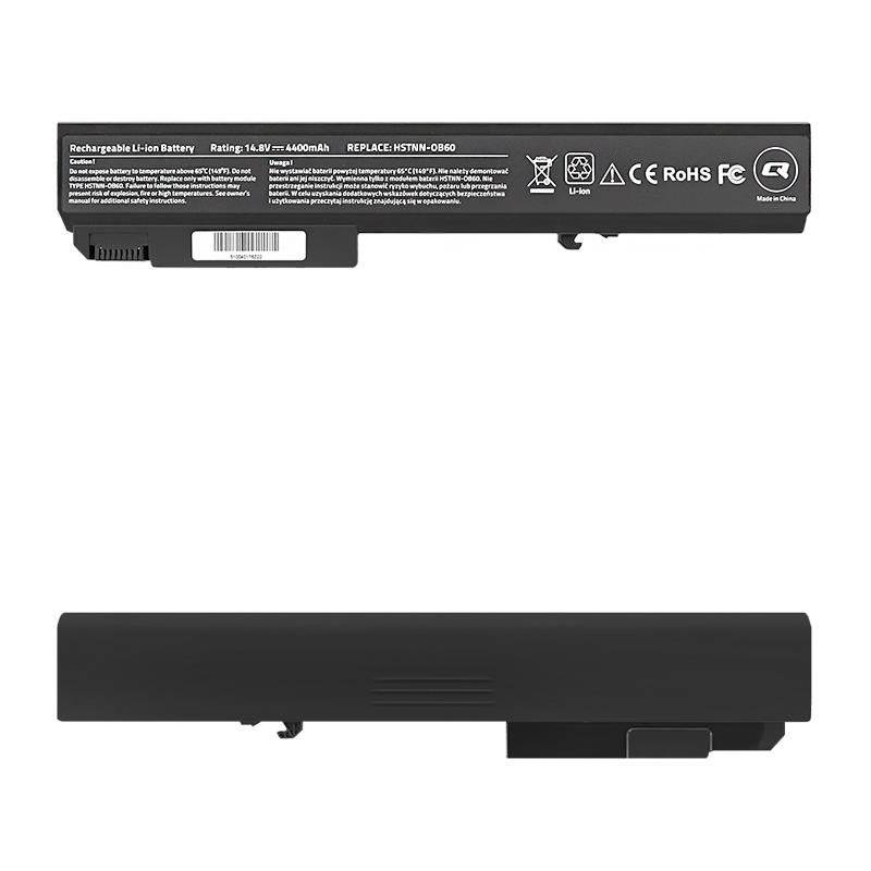 Qoltec Long Life Notebook Battery - HP EliteBook 8530p | 4400mAh | 14.8V