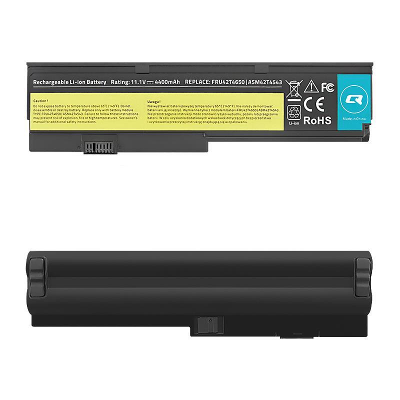 Qoltec Long Life Notebook Battery - Lenovo x200 x201 | 4400mAh | 11.1V