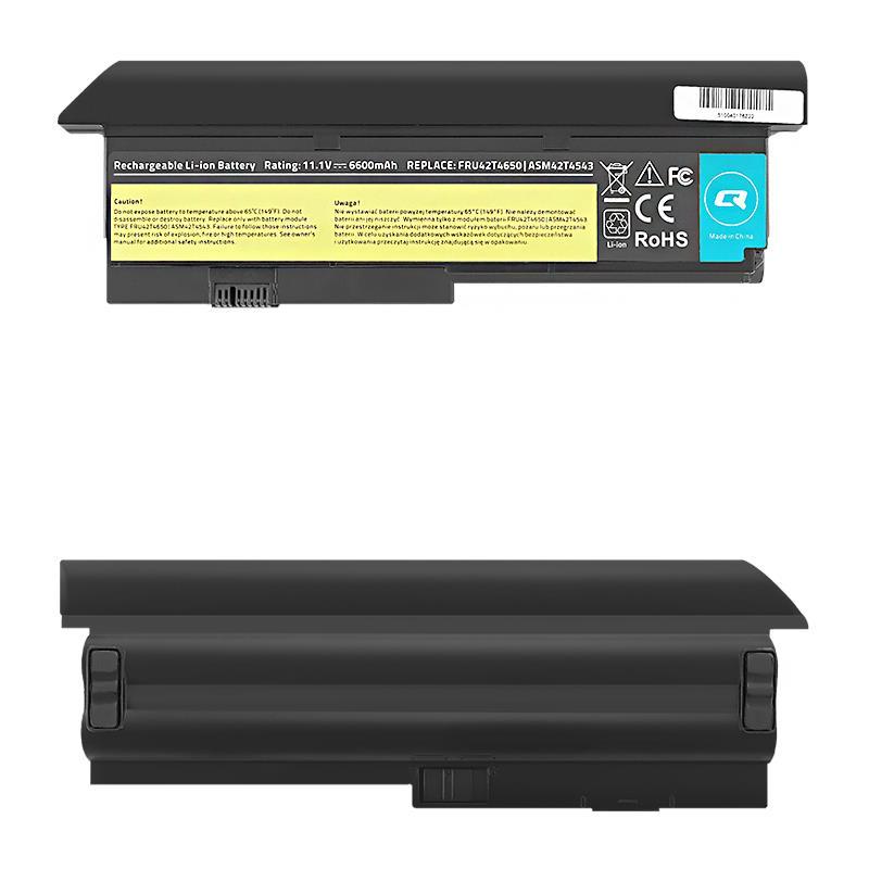 Qoltec Long Life Notebook Battery - Lenovo x200 x201 | 6600mAh | 11.1V