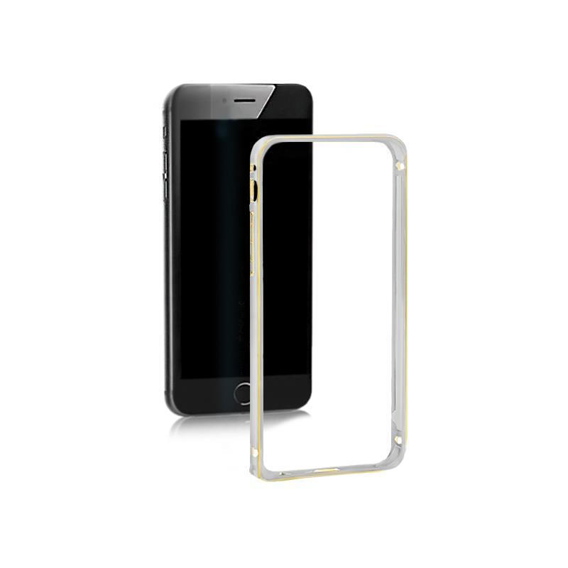 Qoltec Aluminum case for iPhone 5/5s | silver