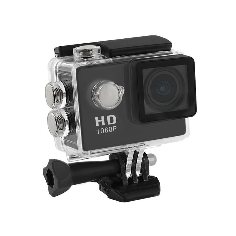 2.0'' Waterproof Sports Camera Full HD QOLTEC for helmet/bike/car   Black