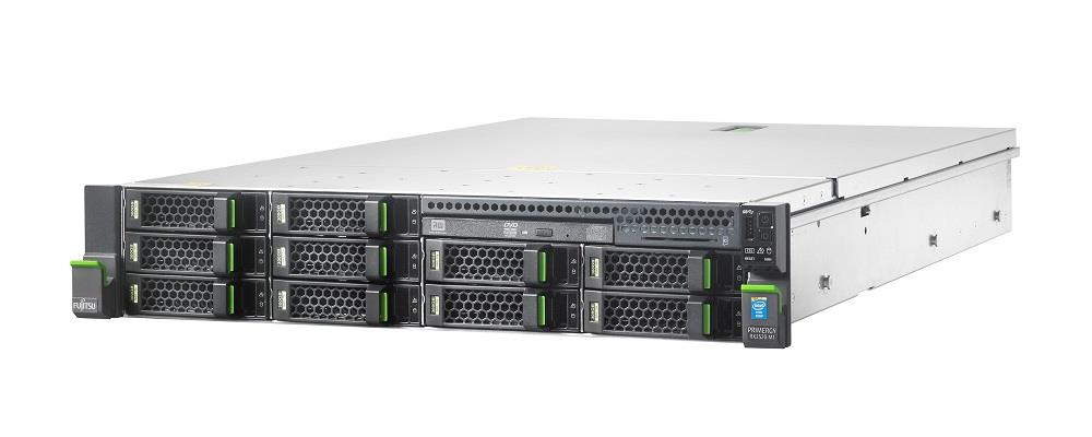 Primergy RX2520 M1 E5-2420v2(6C/2.2/15/HT) 8GB 8x3.5 SATA/SAS RAID5/6 DVDRW 450W