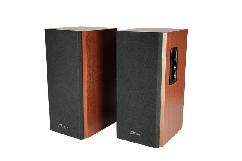 AUDIENCE HQ MT3143 is a set of two-way stereo speakers with 40W RMS output power