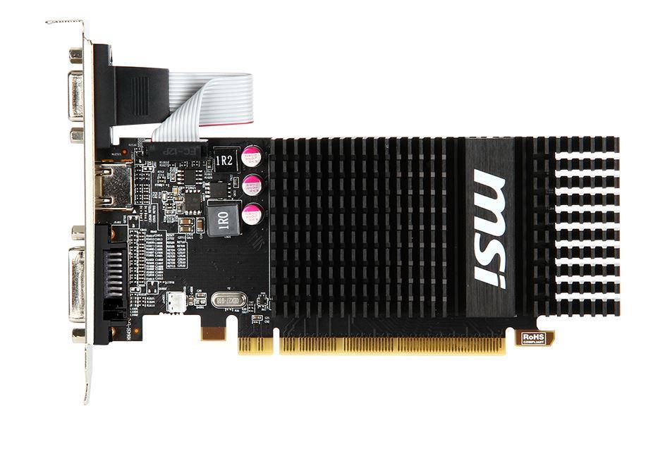 MSI Radeon R5 230, 2GB GDDR3 (64 Bit), HDMI, DVI, D-Sub