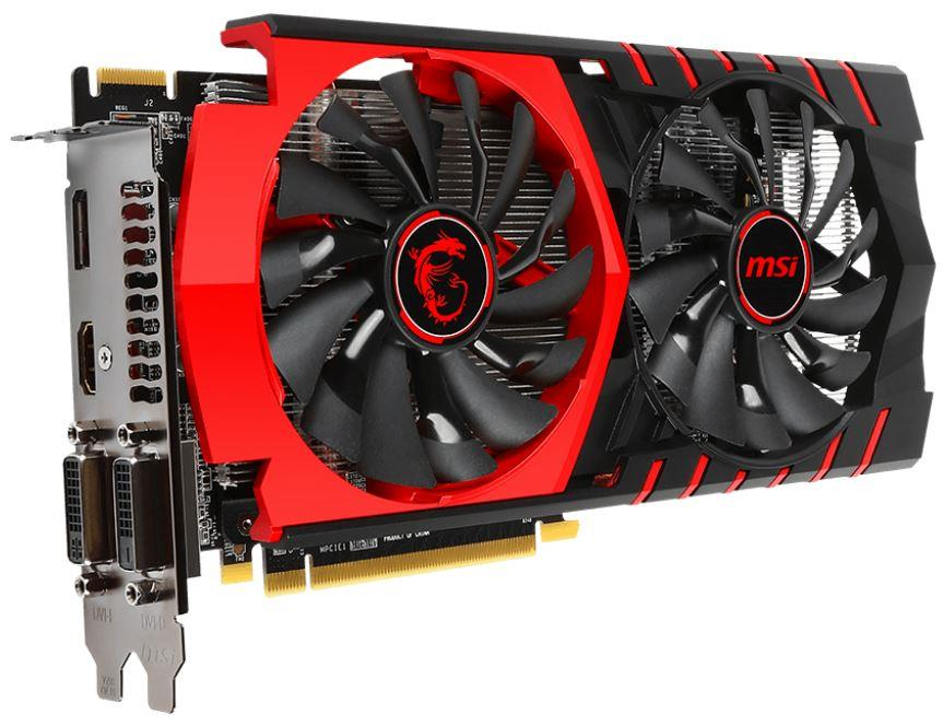 MSI Radeon R7 370, 2GB GDDR5 (256 Bit), HDMI, 2xDVI, DP