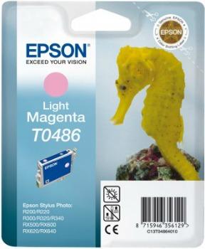 Inkoust Epson T0486 light magenta | Stylus Photo R200/220/300/320/340,RX500/600/