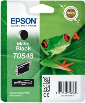 Inkoust Epson T0548 matte black   Stylus Photo R800/1800