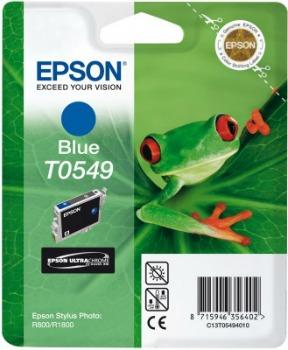 Inkoust Epson T0549 blue   Stylus Photo R800/1800