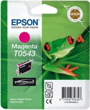 Inkoust Epson T0543 magenta   Stylus Photo R800/1800