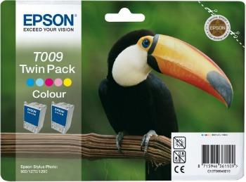 Bundle Epson T009 2 x color TwinPack | Stylus Photo 900/1270/1290/1290S