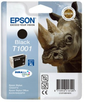 Inkoust Epson T1001 black DURABrite Ultra | 25.9ml | Epson Stylus Office B40W/BX