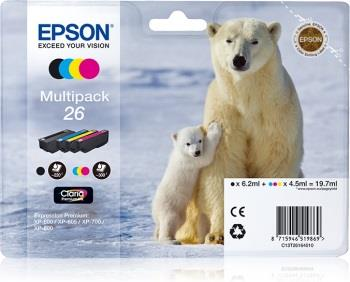 Bundle Epson T2616 CMYK Claria | XP-600/700/800
