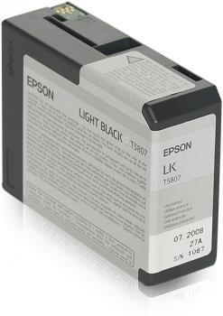 Ink Epson T5807 light black  80 ml   Stylus Pro 3880