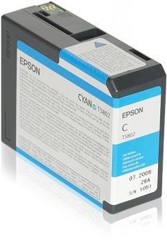 Ink Epson T5802 Cyan   80 ml   Stylus Pro 3880