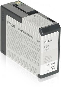 Ink Epson T5809 light light black  80 ml   Stylus Pro 3880