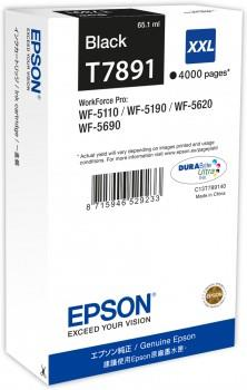 Ink Epson Black T7891 | 65 ml | WF-5110DW/WF-5190DW/WF-5620DWF/WF-5690DWF