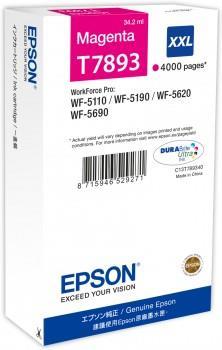 Ink Epson magenta T7893 | 34 ml | WF-5110DW/WF-5190DW/WF-5620DWF/WF-5690DWF