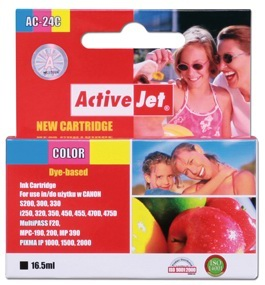 Inkoust ActiveJet AC-24C | Color | 16,5 ml | Canon BCI-24C