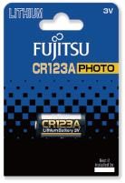 Fujitsu Lithium Battery CR123A baterie do fotoaparátu, 1 ks, Blister