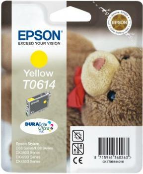 Inkoust Epson T0614 yellow DURABrite | Stylus D68 Photo Edition/88/88 Plus,DX380