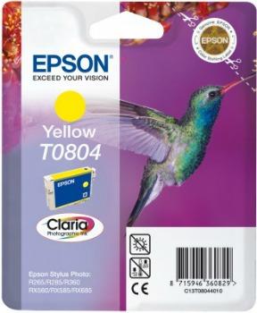 Inkoust Epson T0804 yellow | Stylus Photo R265/285/360,RX560/585/685