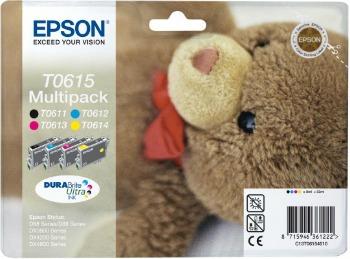 Bundle Epson T0615 CMYK MultiPack DURABrite | Stylus D68 Photo Edition/88/88 ...