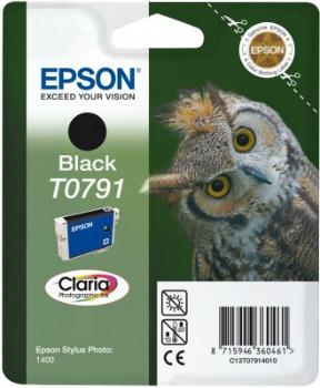 Inkoust Epson T0791 black | Stylus Photo 1400